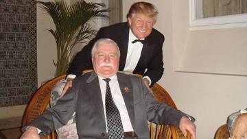 """""""Moja historia była inspiracją dla Trumpa"""". Wałęsa o wyniku wyborów w USA"""