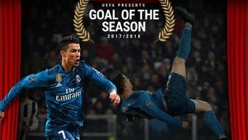 Gol Ronaldo strzelony Juventusowi uznany za bramkę sezonu