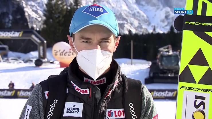Kamil Stoch po pierwszym konkursie PŚ w Planicy