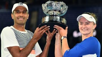 Australian Open: Trzeci z rzędu tytuł Barbory Krejcikovej w mikście