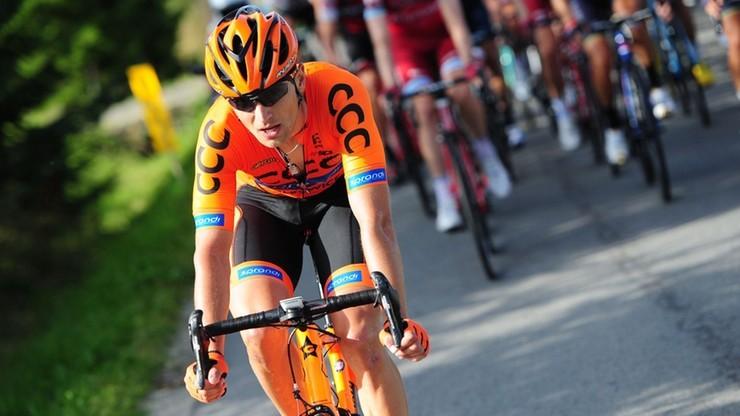 Bernas piątym polskim kolarzem w CCC Team