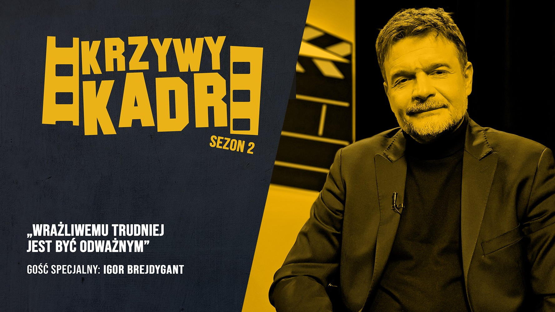 """""""Krzywy kadr"""": Igor Brejdygant o bohaterach serialu """"Rysa"""""""