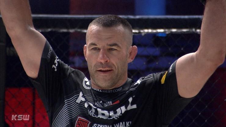 Tomasz Drwal przed KSW 57: Mam swoją strategię i wolę jej nie ujawniać przed walką