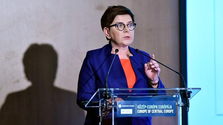 Szydło: współpraca Polski i Węgier mocnym punktem w przyszłym Parlamencie Europejskim