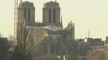 """Katedra Notre Dame ponownie otwarta. """"Jest całkowicie bezpieczna"""""""