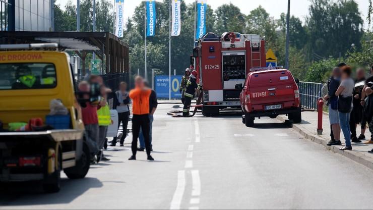 Sosnowiec: wybuch gazu na parkingu centrum handlowego. Ewakuacja sklepów