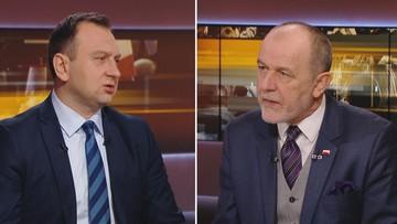 """""""Będziecie się wstydzić posła Kaczyńskiego"""" vs. """"Biedroń zapomniał o akcji »Hiacynt«"""""""