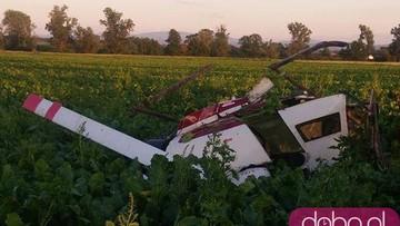 Katastrofa prywatnego helikoptera. Są ofiary
