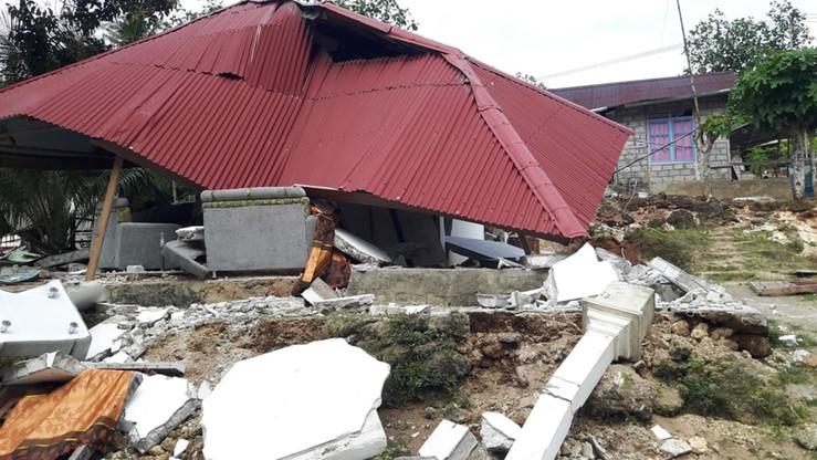 Wzrosła liczba ofiar śmiertelnych trzęsienia ziemi w Indonezji. Setki osób bez dachu nad głową