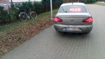 Zatrzymali pijanego rowerzystę. Po rower zgłosili się koledzy, pijany i poszukiwany