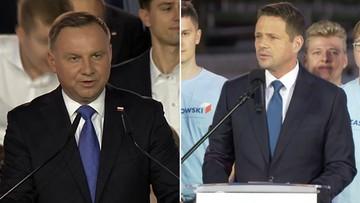 Wybory prezydenckie. Wyniki late poll z 50 proc. komisji