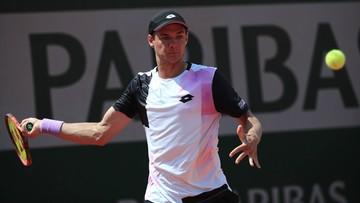 Wimbledon: Kamil Majchrzak odpadł w eliminacjach