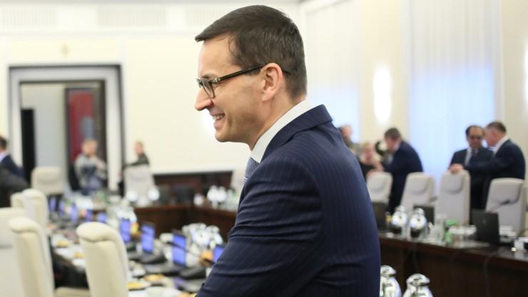 """Morawiecki: będziemy ścigali mafie VAT-owskie """"bez przebaczenia"""""""