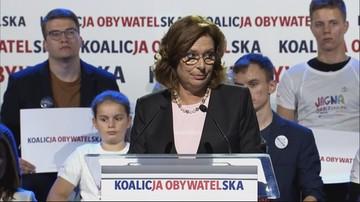 Kidawa-Błońska: chcę Polski dumnej jak Wawel, a nie jak kamienica Banasia