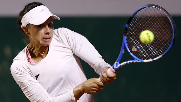 WTA w Ostrawie: Magda Linette odpadła w deblu