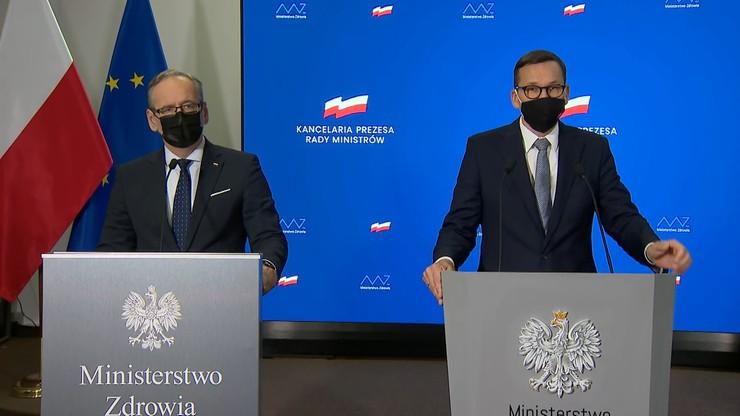 Premier Mateusz Morawiecki: apeluję do antyszczepionkowców