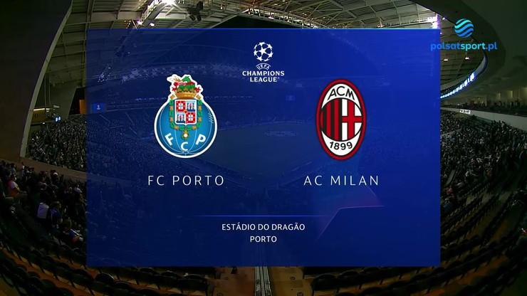 FC Porto - AC Milan. Skrót meczu