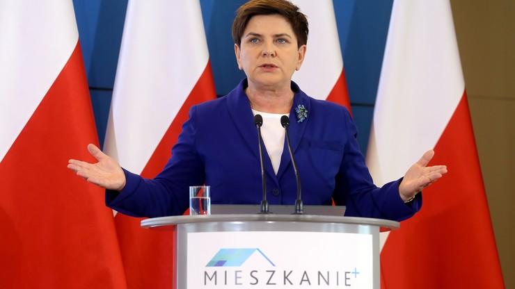 """""""Czas na Mieszkanie+"""". Premier Szydło przedstawiła kolejny program rządowy"""