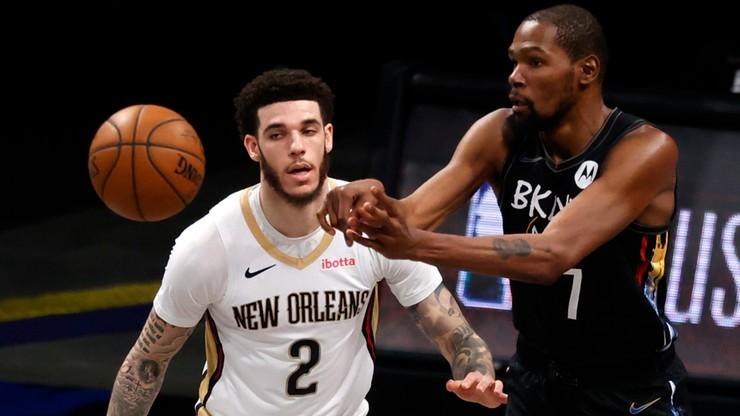 NBA: Powrót i świetny występ Kevina Duranta w wygranym meczu Nets