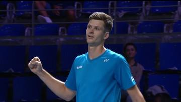 ATP Metz: Pewne zwycięstwo Hurkacza