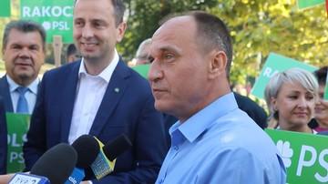Kukiz: mam nadzieję, że 14 października wspólnie z PSL-em będziemy języczkiem u wagi