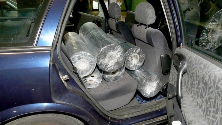 80 kg heroiny w samochodzie Libańczyka w Niemczech