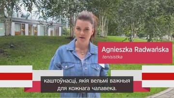"""""""Jesteśmy z Wami"""". Polscy sportowcy wspierają Białorusinów"""
