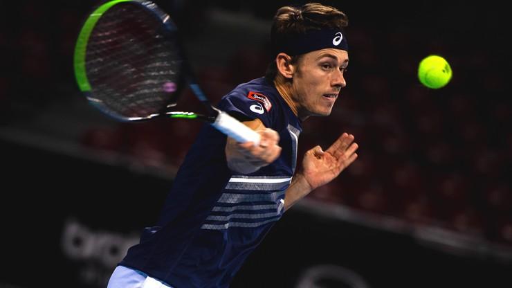 ATP w Antalyi: Aleksander Bublik skreczował po... ośmiu minutach. Alex De Minaur z tytułem
