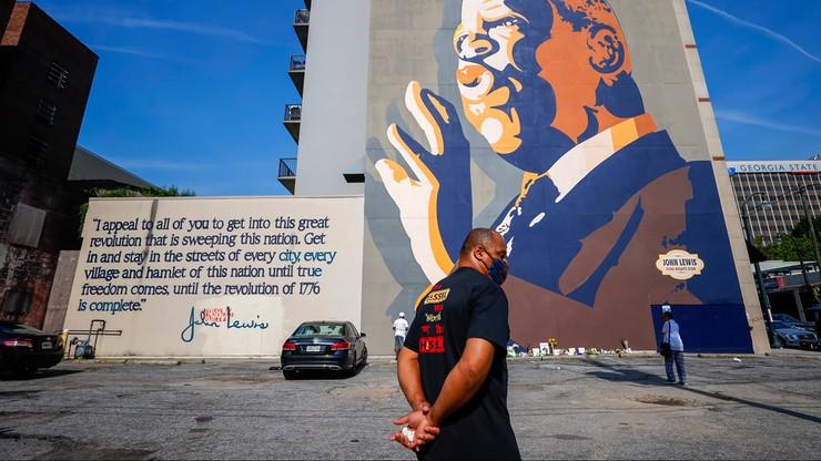 Nie żyje John Lewis. Amerykanie składają hołd bohaterowi walk o prawa obywatelskie