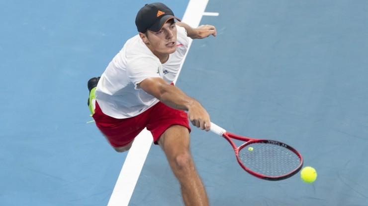 ATP w Zagrzebiu: Kacper Żuk - Pedro Martinez. Relacja i wynik na żywo