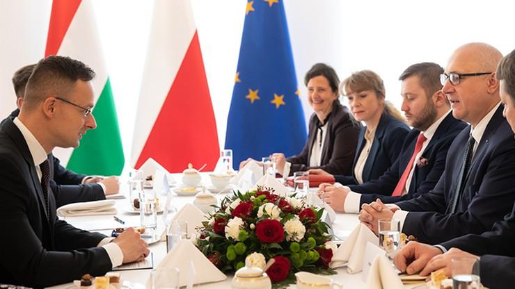 Joachim Brudziński spotkał się z ministrem spraw zagranicznych Węgier