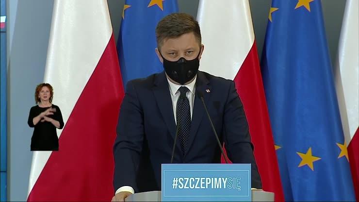 Szczepienia w Polsce. Zostało 150 tys. wolnych terminów do końca marca