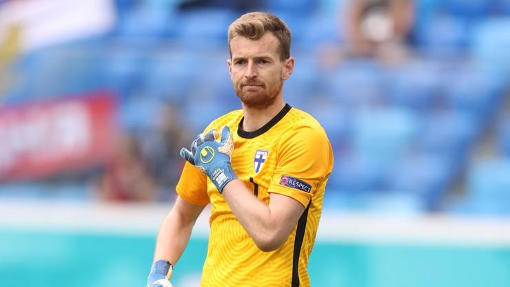 Euro 2020: Finlandia - Belgia 0:1. Samobójczy gol Lukasa Hradecky'ego
