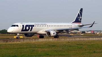 Nowe samoloty dla LOT. W 2018 roku spółka otrzyma sześć Embraerów 195