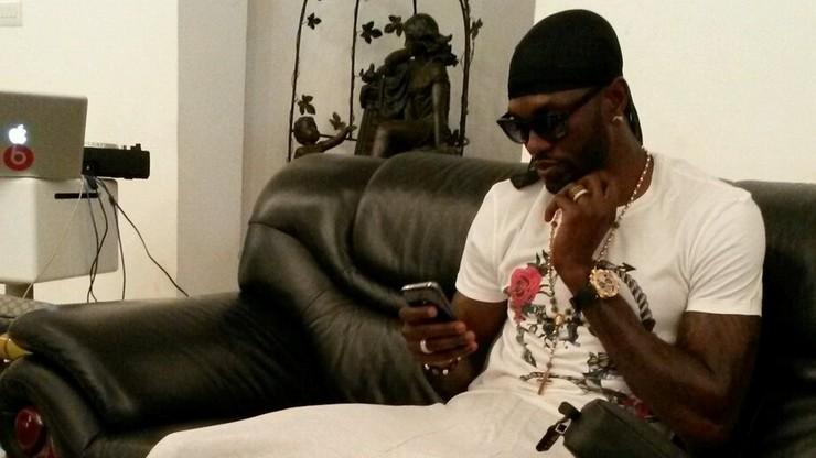Bezrobotny Adebayor i jego kolekcja zegarków z diamentami