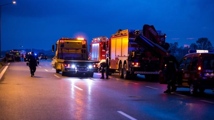 Autostrada A2 odblokowana po karambolu