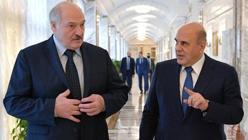 Premier Rosji spotkał się z Łukaszenką. Chcą integracji systemów podatkowych