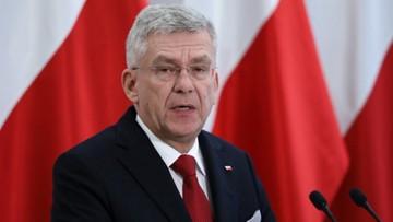 Karczewski: sprawa Kujdy dla całego naszego środowiska była bardzo dużym zaskoczeniem