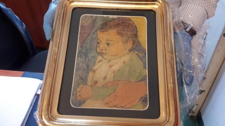 Policja odzyskała portret dziecka. Jego szacunkowa wartość to co najmniej milion