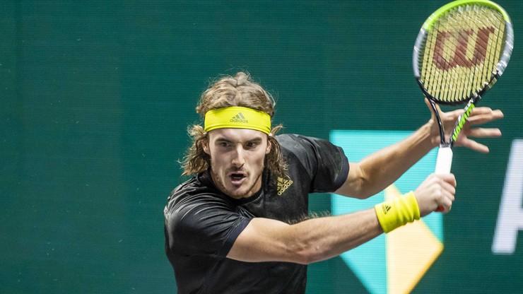 ATP w Rotterdamie: Stefanos Tsitsipas pierwszym półfinalistą