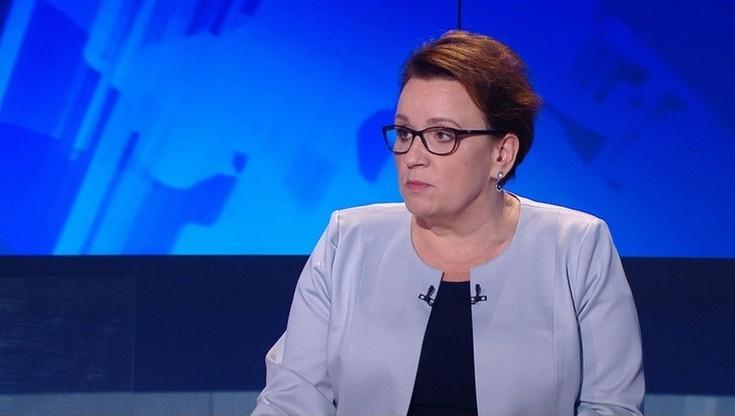 """""""Solidarność"""" chce dymisji minister edukacji. """"Podwyżki nie zadowalają nauczycieli"""""""