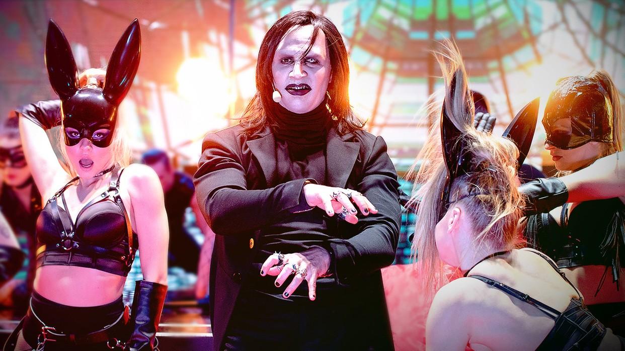Tak wygląda Marylin Manson spod samiuśkich Tater!