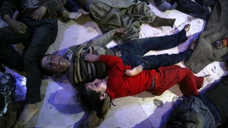 Próbki krwi i moczu pobrane od ofiar ataku w Syrii potwierdzają doniesienia o ataku chemicznym