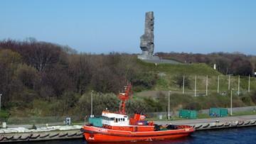 Półtonowa bomba lotnicza znaleziona na Westerplatte. Zajęli się nią saperzy