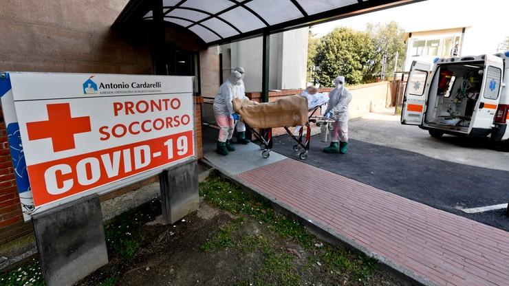 Rośnie liczba ofiar śmiertelnych we Włoszech. 760 zgonów w ciągu doby