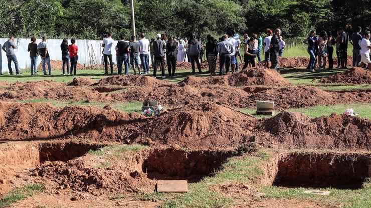 Już ponad 80 ofiar śmiertelnych katastrofy w brazylijskiej kopalni