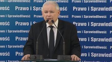 Kaczyński: opozycja wspiera agresję przeciwko Polsce