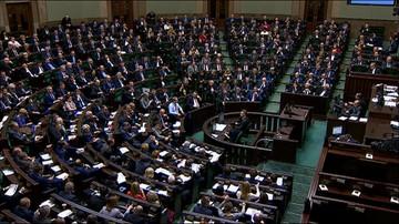 Sejm uchwalił nowelizację ustawy o TK autorstwa PiS
