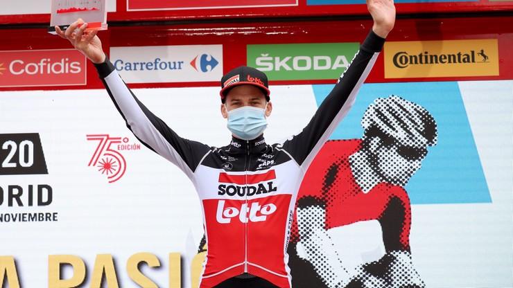 Vuelta a Espana: Wellens wygrał etap, Roglic wciąż liderem