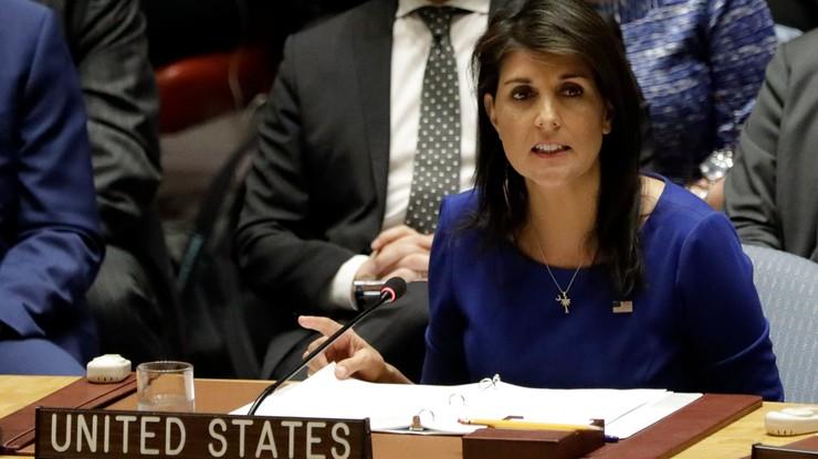 Ambasador USA przy ONZ: uderzymy znowu, jeśli Syria użyje broni chemicznej